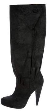 Elizabeth and James Nubuck Knee-High Boots