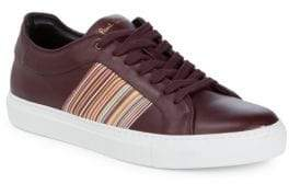 Paul Smith Striped Low-Top Sneakers