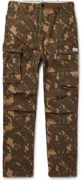 Neighborhood Camouflage-Print Cotton-Twill Cargo Trousers