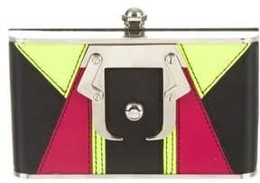 Paula Cademartori Colorblock Box Clutch
