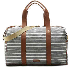 Women's Crayon Weekender Bag -Black/White
