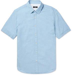 HUGO BOSS Luka Cotton And Linen-Blend Shirt