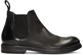 Marsèll Black Zucca Media Boots