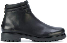 Armani Jeans ankle zip boots