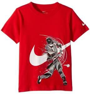 Nike Brush Baseball Cotton Tee Boy's T Shirt