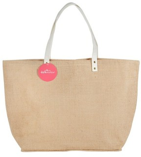 Kate Aspen Natural Jute Tote Bag