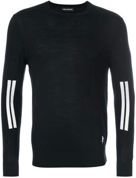 Neil Barrett stripe detail jumper