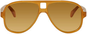 Acne Studios Tan Hole Sunglasses
