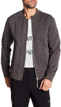 Helmut Lang Textured Twill Bomber Jacket