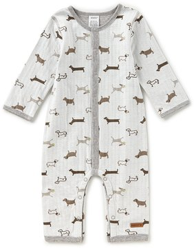 Robeez Newborn-9 Months Reversible Long-Sleeve Printed Coverall