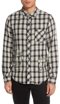 Hudson Men's Weston Slim Fit Check Sport Shirt