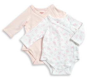 Little Me Baby Girl's Two-Pack Bodysuit Set
