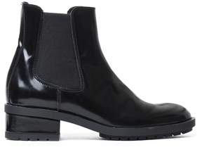 Atos Lombardini Women's Black Leather Ankle Boots.