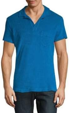 Orlebar Brown Short-Sleeve Cotton Polo