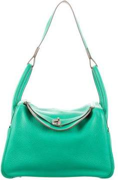 Hermes Clemence Lindy 30 - GREEN - STYLE
