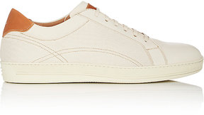Antonio Maurizi MEN'S PERFORATED LEATHER SNEAKERS
