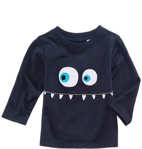 First Impressions Monster-Print T-Shirt, Baby Boys (0-24 months), Created for Macy's