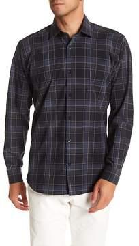 Jared Lang Check Patterned Woven Shirt