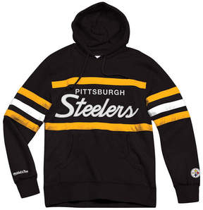 Mitchell & Ness Men's Pittsburgh Steelers Head Coach Hoodie