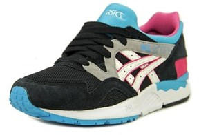 Asics Gel-lyte V Youth Round Toe Suede Multi Color Running Shoe.
