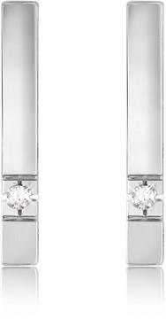 Forzieri 0.02 ctw Diamond Bar Earrings