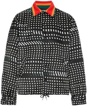 Facetasm Wool blend jacket with dots