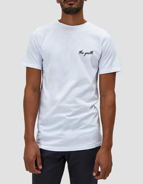 NATIVE YOUTH Minden Tee in White