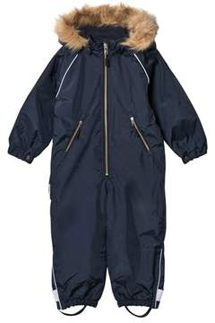 Ticket to Heaven Blue Total Eclipse Snowbaggie Suit With Detachable Hood