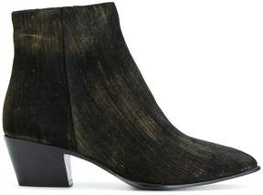 Barbara Bui Cuban style ankle boots