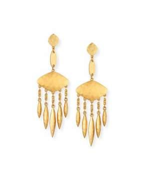 Sequin Tulum Chandelier Earrings