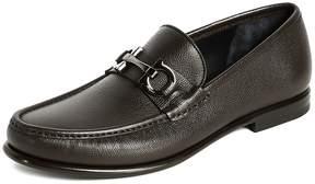 Salvatore Ferragamo Crown Bit Loafers