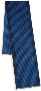 Saks Fifth Avenue Men's Checked Silk Scarf