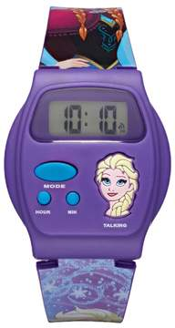 Disney Disney's Frozen Elsa Kids' Digital Talking Watch