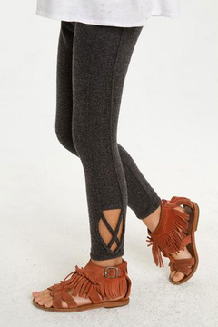 Chaser Cuff Detail Knit Legging