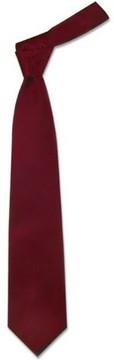 Forzieri Solid Bordeaux Extra-Long Tie
