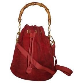 Gucci Bamboo handbag - RED - STYLE