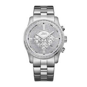 JBW Mens Silver Tone Bracelet Watch-J6337c
