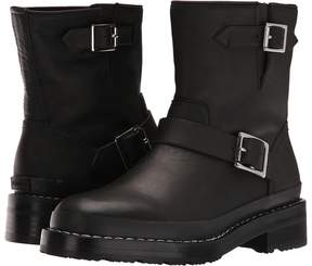 Hunter Leather Biker Boot Women's Boots