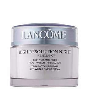 Lancome High Resolution Night Refill-3X , 2.6 oz