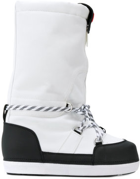 Hunter contrast snow boots
