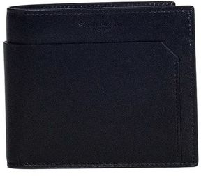 Saint Laurent Black Wallet With Exterior Pocket - BLACK - STYLE