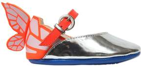 Sophia Webster Printed Wing Nappa Leather Shoes