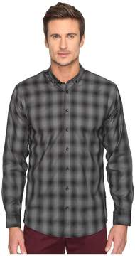 Publish Kalyb Micro Houndstooth Button Down Men's Long Sleeve Button Up