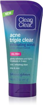 Clean & Clear Triple Cleanse Exfoliating Scrub