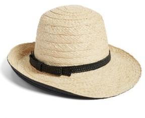 Women's Kate Spade New York Asymmetrical Sun Hat - Black