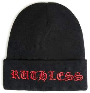 21men 21 MEN Men Ruthless Graphic Beanie