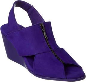 Arche Egwal Leather Wedge Sandal
