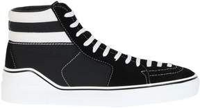 Givenchy Black White Mid Sneakers
