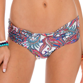 Luli Fama Scrunch Panty Ruched Back In Multicolor (L523346)