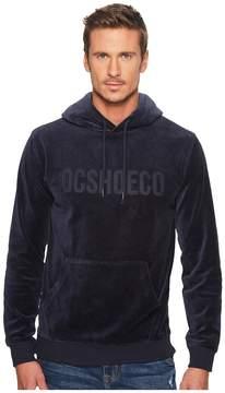 DC Maytown Velvet Fleece Pullover Hoodie Men's Sweatshirt